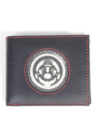 Nintendo Wallet Super Mario Patch Bifold