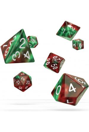 Oakie Doakie Dice RPG Set Gemidice - Bloody Jungle (7)