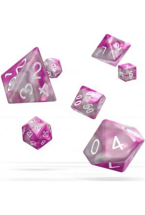 Oakie Doakie Dice RPG Set Gemidice - Magnolia (7)