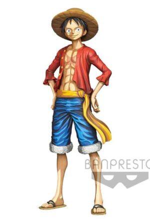 One Piece Master Star Piece PVC Statue Monkey D. Luffy Manga Dimension 27 cm