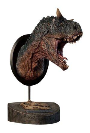 Paleontology World Museum Collection Series Bust Carnotaurus Green Ver. 24 cm