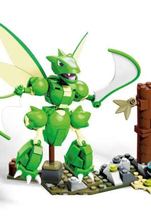 Pokémon Mega Construx Construction Set Super-Sized Scyther 13 cm