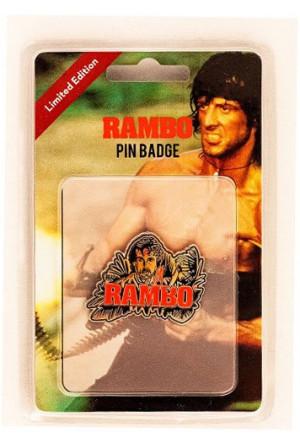 Rambo Pin Badge Rambo