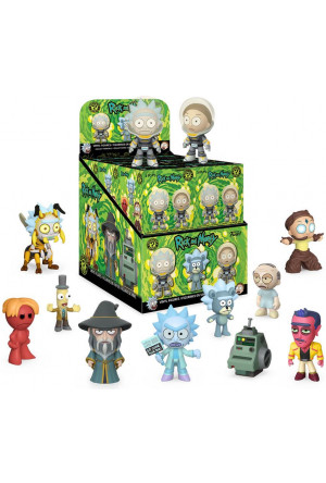 Rick & Morty Mystery Minis Vinyl Mini Figures 6 cm Display (12)
