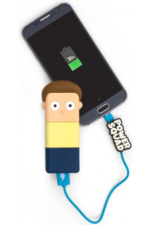 Rick & Morty PowerSquad Power Bank Cartoon Network Morty 2500mAh