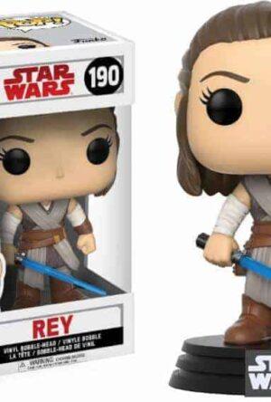 Star Wars Episode VIII POP! Vinyl Bobble-Head Rey 9 cm