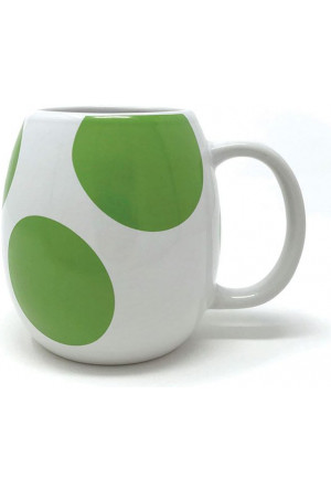 Super Mario 3D Shaped Mug Yoshi Egg