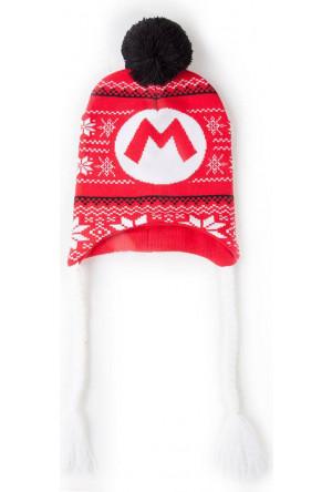 Super Mario Ski Beanie Super Mario Badge Laplander