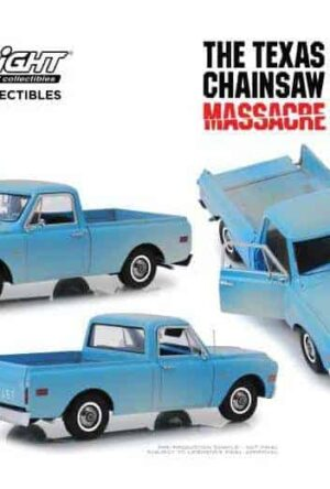 Texas Chainsaw Massacre Diecast Model 1/18 1971 Chevrolet C-10