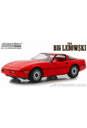 The Big Lebowski Diecast Model 1/18 1985 Chevrolet Corvette C4