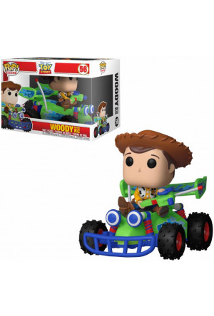 Toy Story POP! Rides Vinyl Figure Woody & RC 15 cm