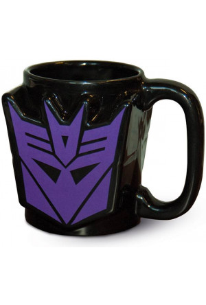 Transformers G1 3D Mug Decepticon Shield