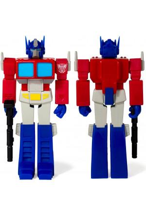Transformers ReAction Action Figure Wave 1 Optimus Prime 10 cm