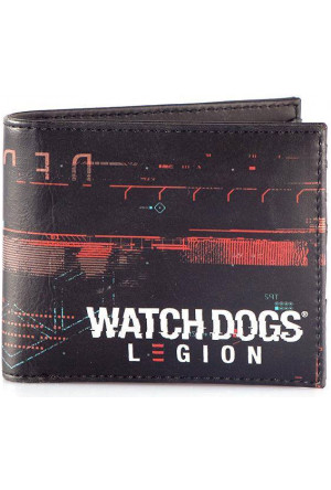 Watch Dogs: Legion Bifold Wallet All Over Print