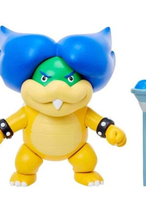 World of Nintendo Action Figure Ludwig with Magic Wand 8 cm