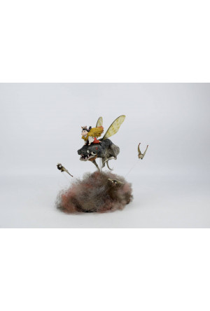 Zao Dao Statue Little Bugs 22 cm