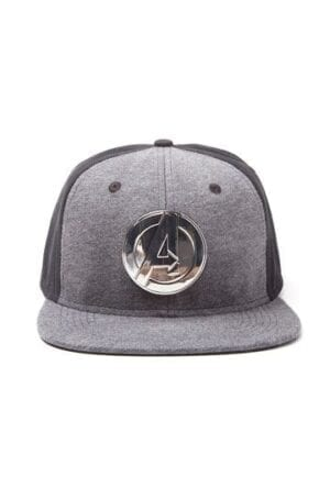 Avengers Snap Back Baseball Cap Metal Logo