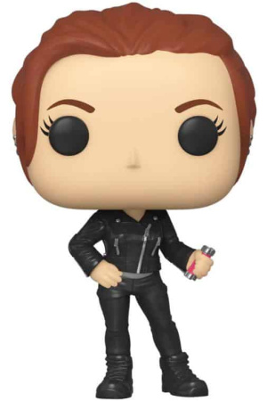 Black Widow POP! Marvel Vinyl Figure Black Widow (Street) 9 cm