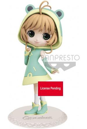 Cardcaptor Sakura Q Posket Mini Figure Sakura Kinomoto Ver. B Vol. 2 14 cm