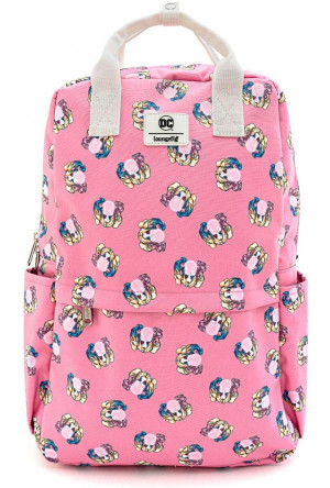 DC Comics by Loungefly Backpack Harley Quinn Bubble Gum