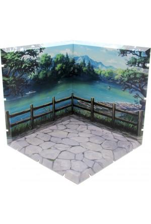 Dioramansion 150 Decorative Parts for Nendoroid and Figma Figures Lake Bishamon