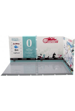 Dioramansion 150 Decorative Parts for Nendoroid and Figma Figures Racing Miku 2015 Pit