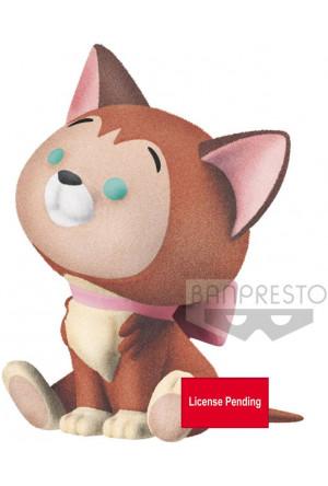 Disney Cutte! Fluffy Puffy Mini Figure Dinah 4 cm