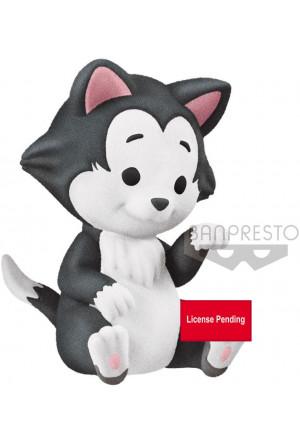 Disney Cutte! Fluffy Puffy Mini Figure Figaro 4 cm