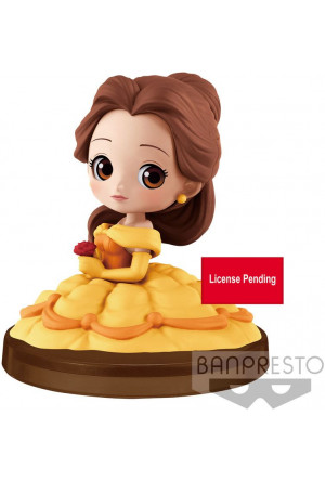 Disney Q Posket Petit Mini Figure Belle 4 cm