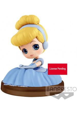 Disney Q Posket Petit Mini Figure Cinderella 4 cm