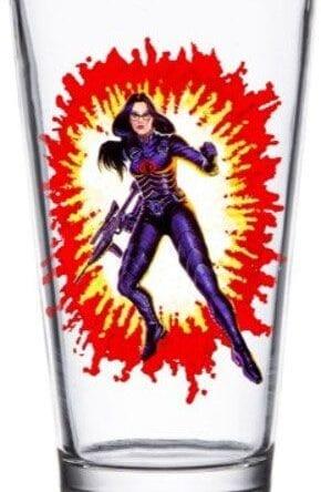 G.I. Joe Pint Glass Baroness