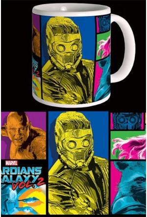 Guardians of the Galaxy 2 Mug Colors