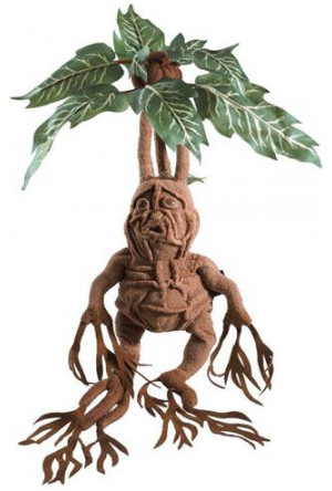 Harry Potter Collector Plush Figure Mandrake 36 cm