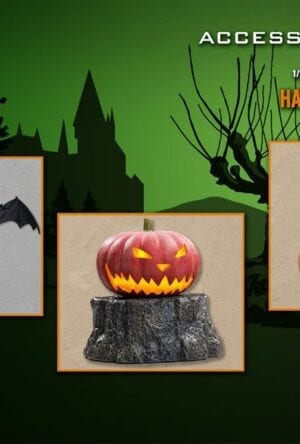 Harry Potter Halloween Accessories Pack for Harry Potter 1/6 Action Figures