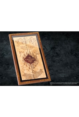 Harry Potter Marauder´s Map Display Case