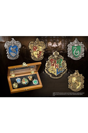 Harry Potter Pin Collection Hogwarts Houses (5 stk.)