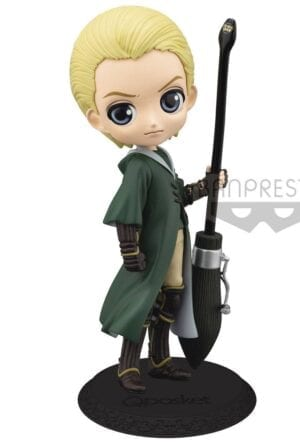 Harry Potter Q Posket Mini Figure Draco Malfoy Quidditch Style Version A 14 cm