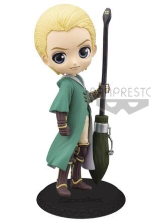 Harry Potter Q Posket Mini Figure Draco Malfoy Quidditch Style Version B 14 cm