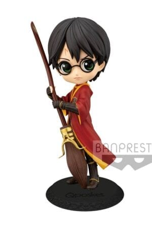 Harry Potter Q Posket Mini Figure Harry Potter Quidditch Style Version A 14 cm