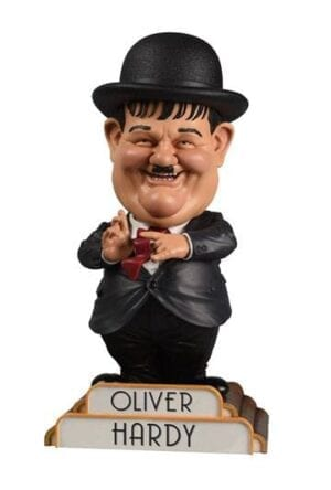 Laurel and Hardy Bobble-Head Oliver Hardy in Suit 20 cm