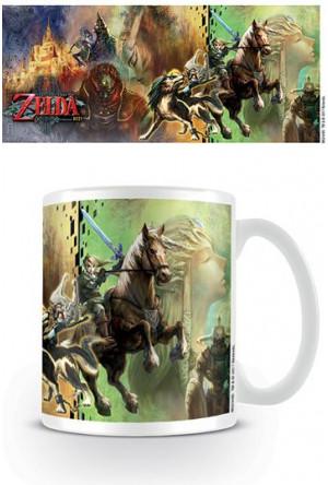 Legend of Zelda Twilight Princess Mug Characters