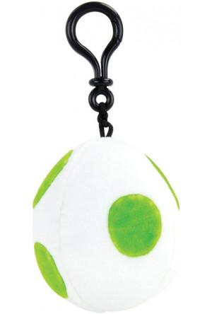 Mario Kart Mocchi-Mocchi Clip On Plush Hanger Yoshi Egg 10 cm