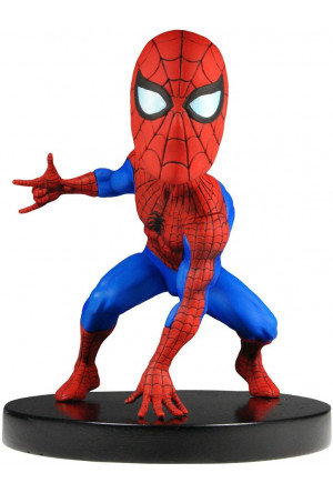 Marvel Classic Extreme Head Knocker Bobble-Head Spider-Man 13 cm