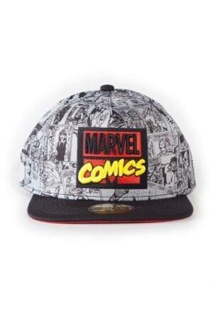 Marvel Comics Snapback Cap AOP