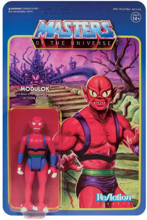 Masters of the Universe ReAction Action Figure Wave 5 Modulok B 10 cm