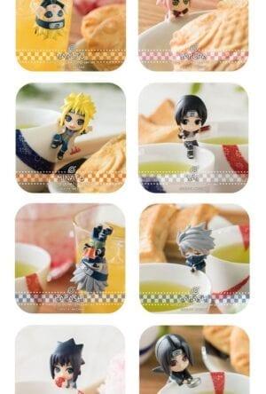 Naruto Shippuden Ochatomo Series Trading Figure 5 cm Konoha Break Time Assortment (8)