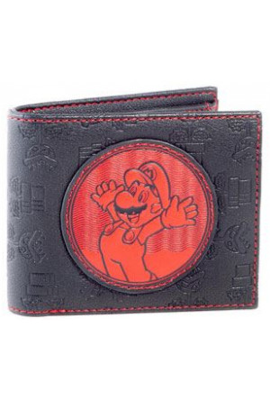 Nintendo Wallet Super Mario Bifold