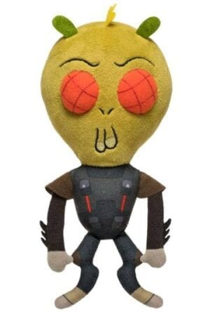 Rick & Morty Galactic Plushies Plush Figure Krombopulous Michael 18 cm