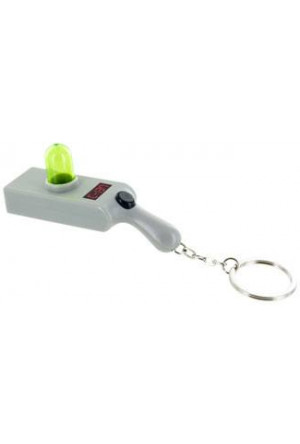 Rick & Morty Light-Up Keychain Portal Gun