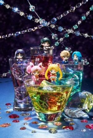 Sailor Moon Ochatomo Series Trading Figure 5 cm Cosmic Heart Cafe Assortment (8)